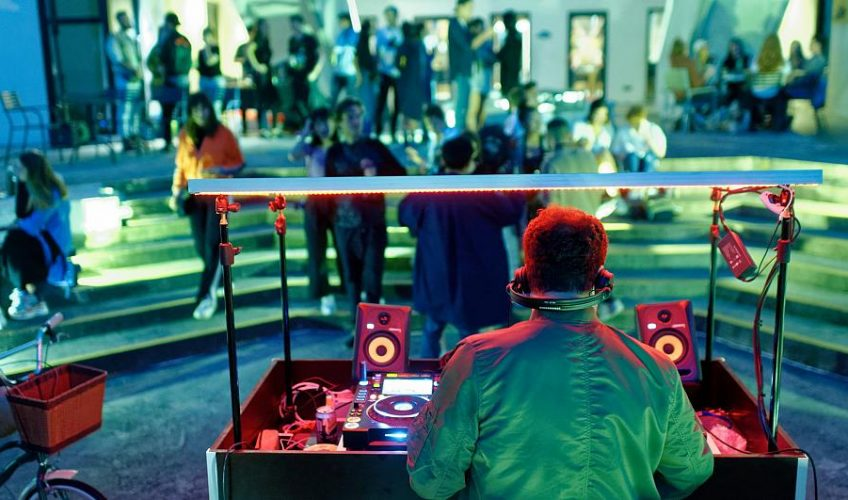 SOLAR-POWERED RAVES ON THE RISE IN FRANCE