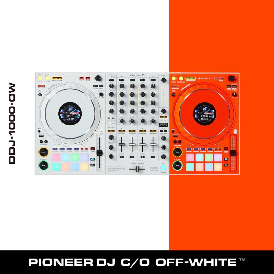 Pioneer Partners with Off-White To Release The Limited Edition DDJ-1000-OW