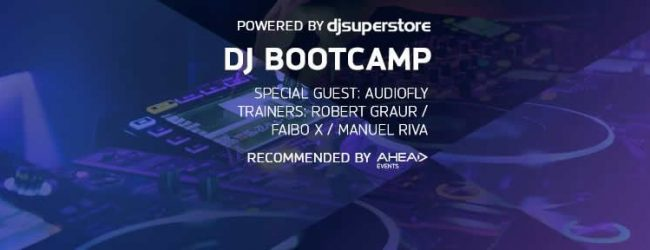 DJ BOOTCAMP: LASA TOT SI INSCRIE-TE PENTRU 4 ZILE IN CARE ITI ARATAM TOATE NOTIUNILE, DE LA A LA DJ!